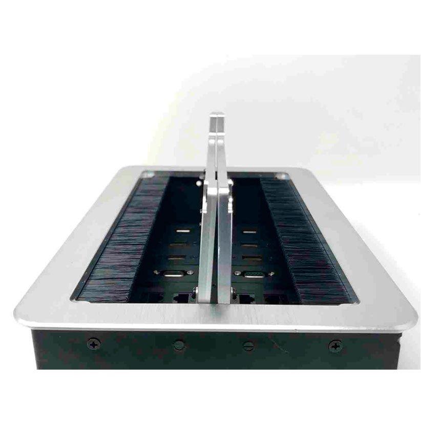Buy Now | Conference Table Box For Av Connectivity Av Box YV-210S | Silver Color | 2020