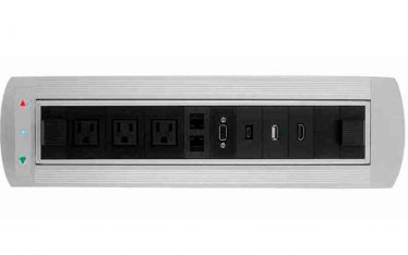 motorized automatic flipping socket box for conference table