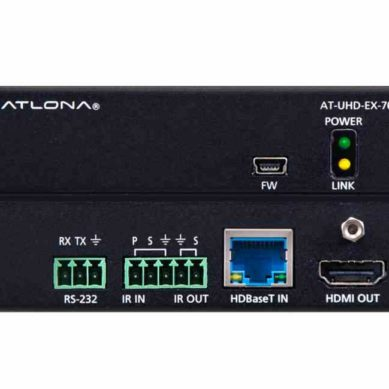 ▷ Atlona at uhd ex 70c rx 4K/UHD HDMI Over HDBaseT Receiver with Control and PoE