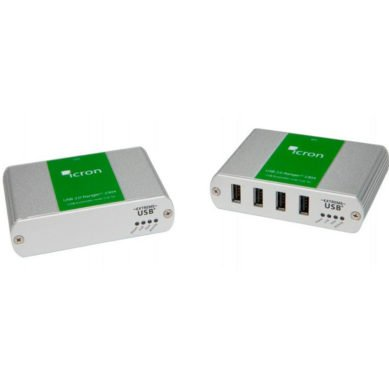4-Port USB 2.0 100m CAT 5e/6/7 2304 Extender System