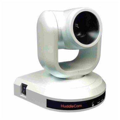 HuddleCamHD 3x Full HD USB 3.1 Gen 1 PTZ Camera (White)  Yolkvisual USA