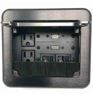 conference table av box