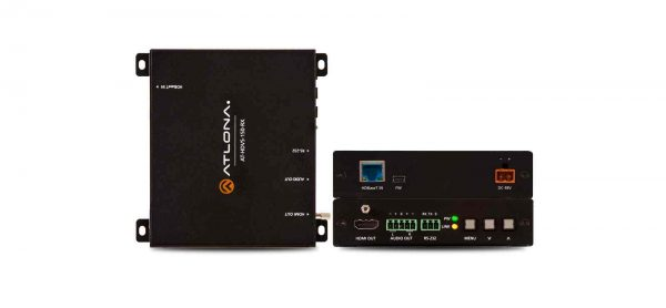 ▷ At-hdvs-150-rx HDBaseT Scaler with HDMI and Analog Audio Outputs